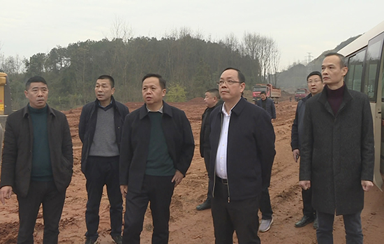 盛文军调研赤壁生态新城建设 大干快上加速推进 提高城市品质 提升人民福祉